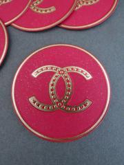 authentic chanel logo cc sticker