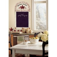 Country Stars Chalkboard Wall Decals Rustic Stickers ...