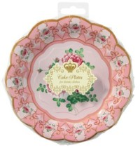Blooming British Tea Party - Floral Paper Plates x12 ...