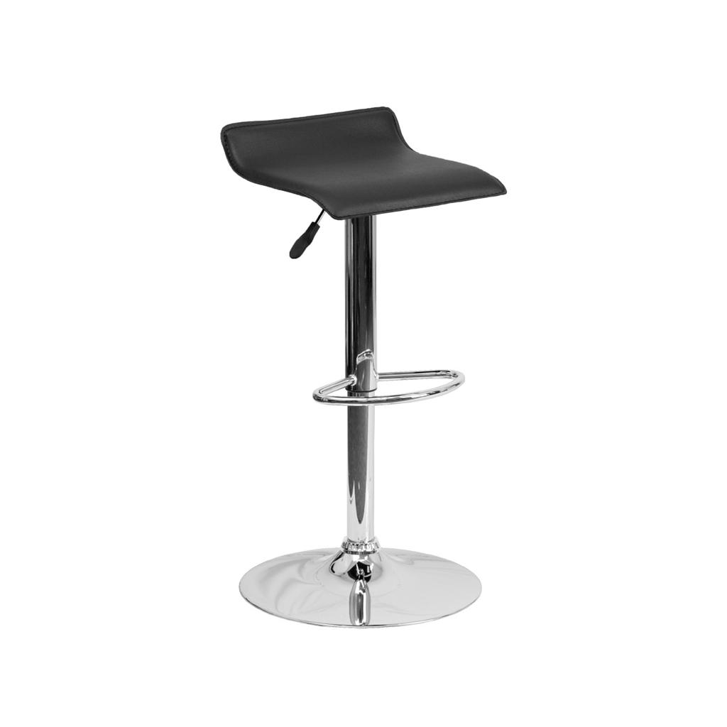 backless chair height stool outdoor chairs target modern adjustable bar chrome swivel