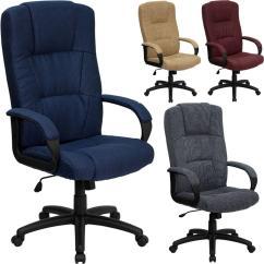 Fabric Desk Chair Harter Steel Sturgis Michigan Best High Back Executive Computer Office