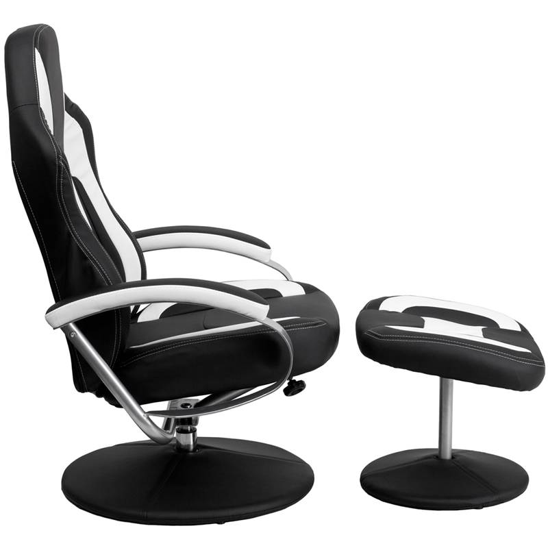 Racing Bucket Seat Recliner Gaming Game Room Lounge Chair