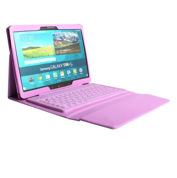 Bluetooth Keyboard Samsung Galaxy 10.1'' Tab 4 T530 Tablet Case