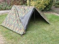 British military surplus tents