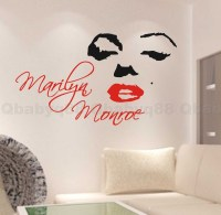 Marilyn Monroe Wall Quote decal Removable stickers decor ...