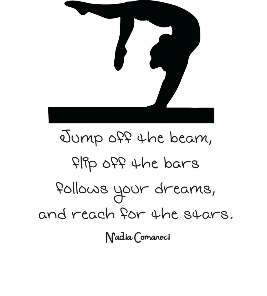 Quotes About Gymnastics. QuotesGram