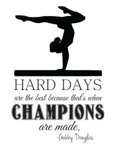 Best Gymnastics Quotes To Color. QuotesGram
