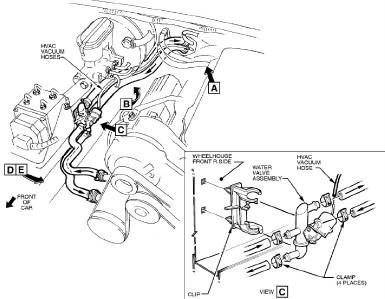 Holden Commodore Heater Valve TAP VN VR VS VT VX VY 3 8LTR
