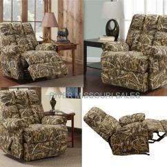Camo Recliner Chair Tables And Chairs Realtree Living Camouflage Rocker