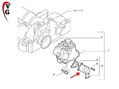 BOSCH 0928400680 RPESSURE CONTROL VALVE REGULATOR ,FIAT