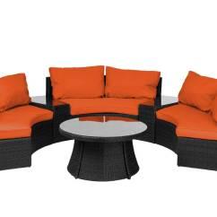 Sunbrella Fabric Sectional Sofas Diwan Sofa Set Designs Reef Rattan Curved Black Wicker