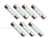 7 COOL BLUE 8V LED Lamp Fuse-Type Bulbs - For models 2225 ...