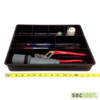7 Compartment Drawer Organizer Plastic Storage Box Case ...