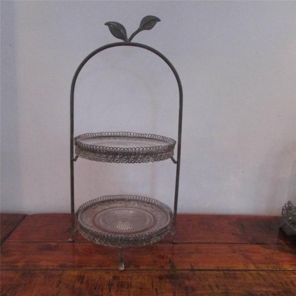 Decorative Glass Cake Stand