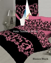 Qaisiria Bianca Poly Cotton Bumper Set Bedding Set ...