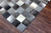 bunkar 100 leather checkerboard