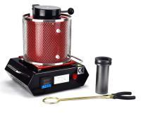 1 KG Gold Melting Furnace Kiln Machine 110V Refining