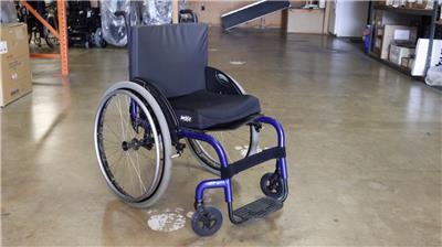 wheelchair ebay english roll arm chair and a half quickie q7 rigido silla de ruedas manual azul 18 x 17 rigid blue dealer demo