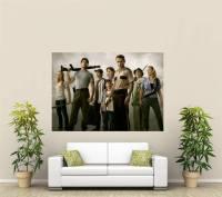 The Walking Dead Giant 1 Piece Wall Art Poster TVF164 | eBay