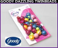 Girl's/ Women's 14 Pcs GOODY Hair DAZZLING TWINBEADS Ball ...