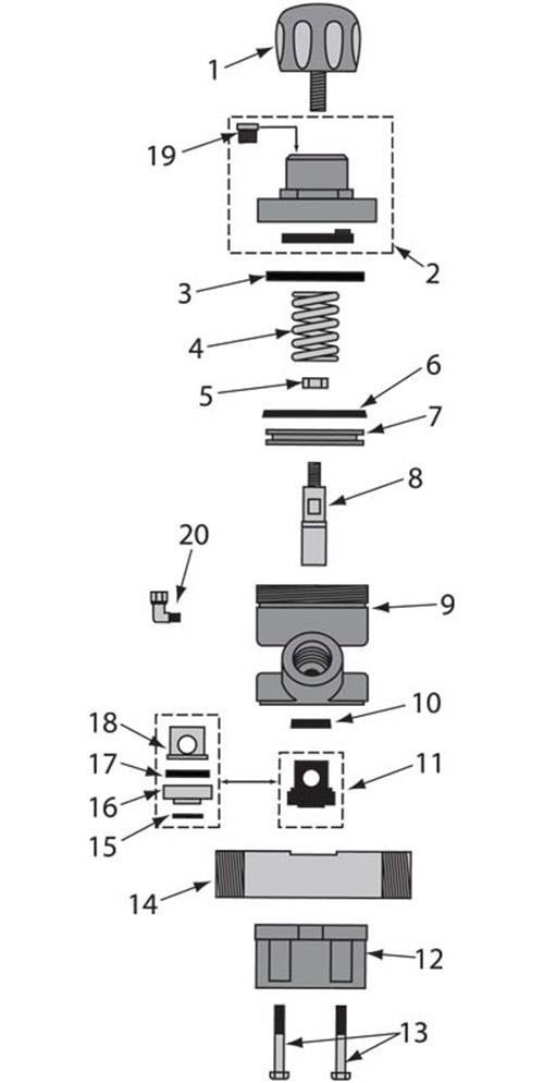 REPLACES SCHMIDT AXXIOM 2149-000-09 THOMPSON / MAXUM I