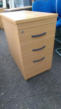 3 Drawer Filing Cabinet Heavy Duty Storage Office Unit ...