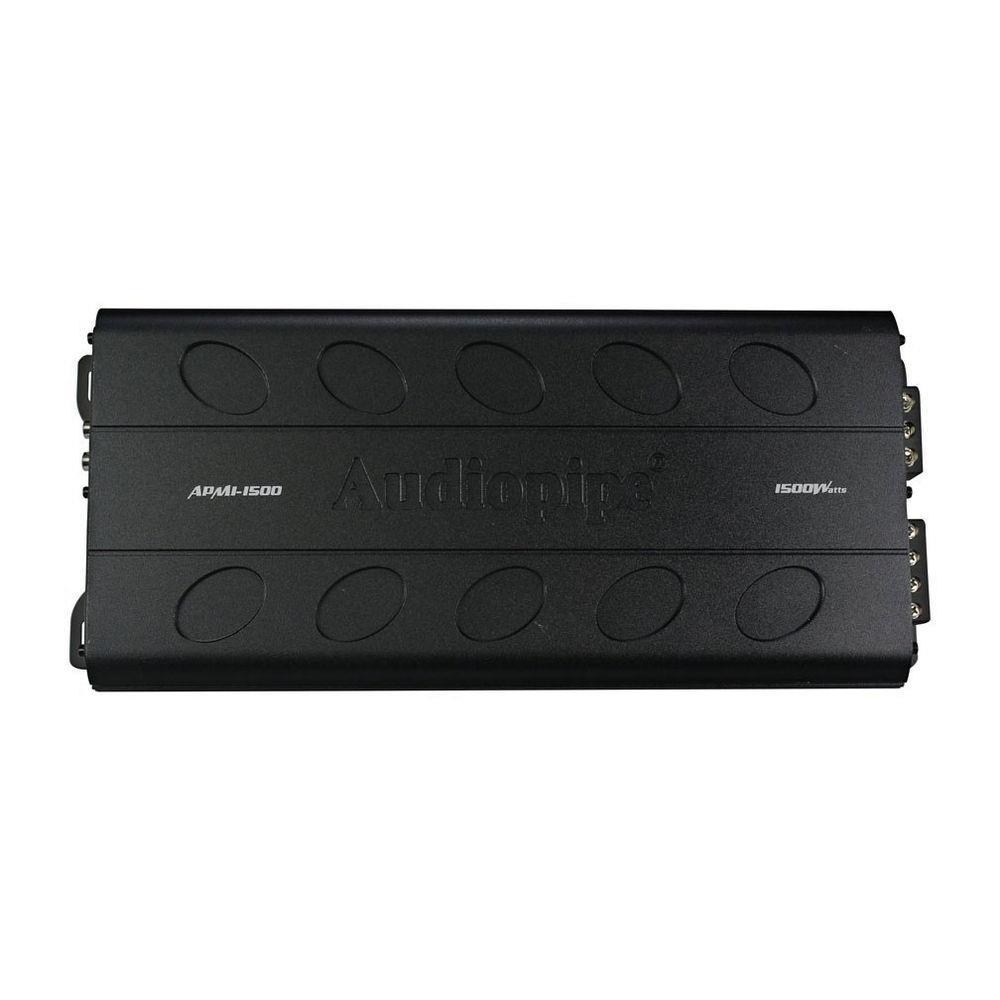 hight resolution of audiopipe apmi1500 1500 w monoblock class d car amplifier boss amplifier wiring diagram monoblock amp wiring diagram for 2 4 ohm subs