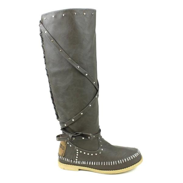 Sam&jeffrey Canper-02 Moccasin Knee-high Boots Partyshoes247 U. Seller