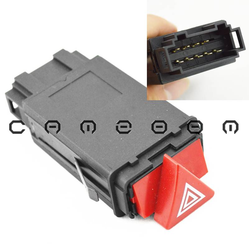 For Audi A4 B5 S4 Hazard Flasher Warning Light Emergency Switch Relay