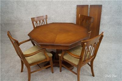 Regency Game Table Dinette Kitchen Chairs Dining Room Suite