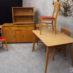 Sturdy Kitchen Chairs Office Zimbabwe Hale Original Mid Century Modern Dinette Set Table