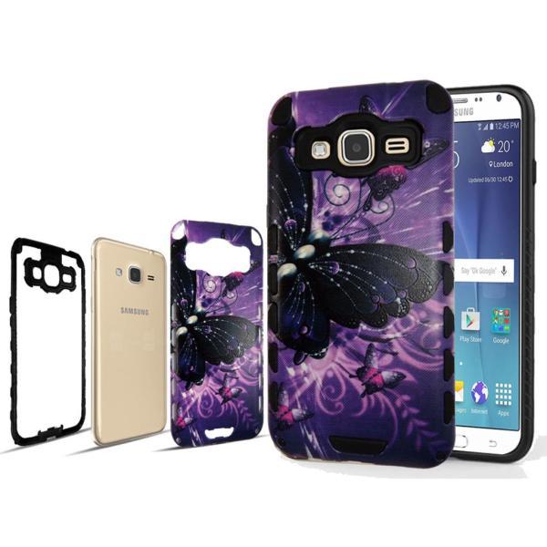 For Samsung Galaxy J3 J320 Hybrid Case Slim Shock Proof