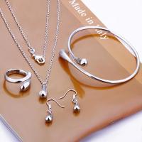 Classic 925 silver Teardrop Necklace Bracelet Bangle ...