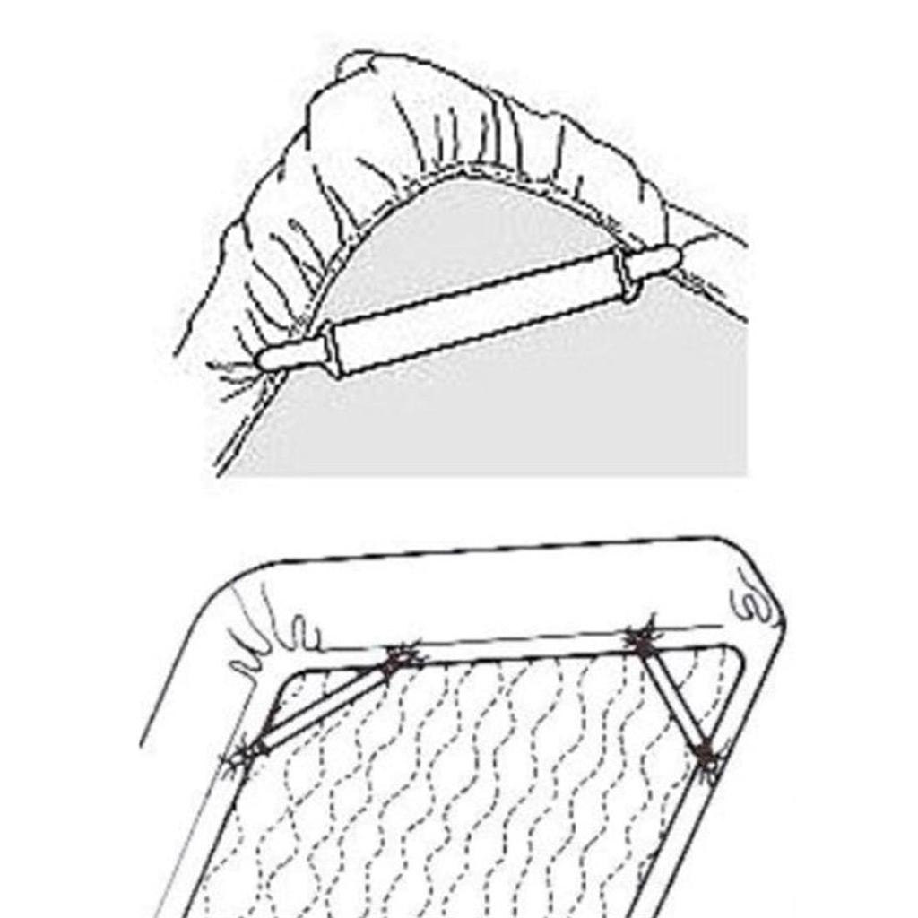 Andux Land Sheet Mattress Corner Straps Keep All Sheets Smooth Amp Tight On Any Bed Cdj 01 Cdj 01