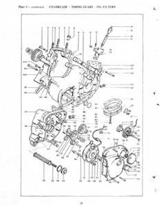 TRIUMPH Replacement Parts List 1973 Hurricane Model X75