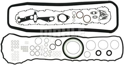 VOLVO D12B OUT OF FRAME OVERHAUL ENGINE KIT MAHLE 480-1016