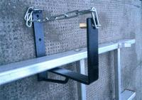 Black Ladder Rack. Pair Of Heavy Duty Wall Ladder Rack ...