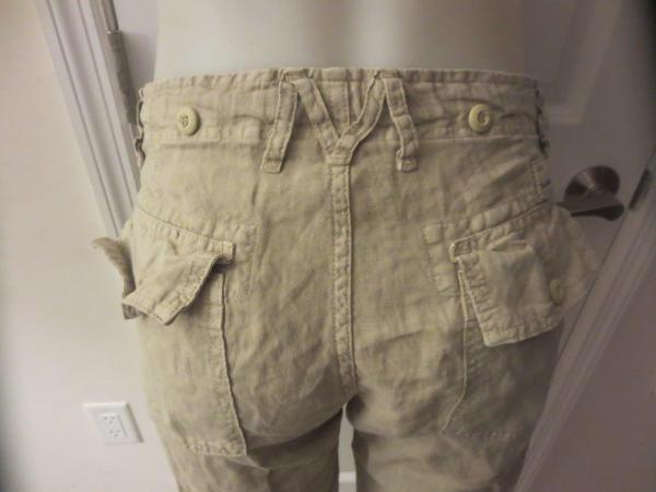 Womens Mason' Khaki Capri Pants Size 40