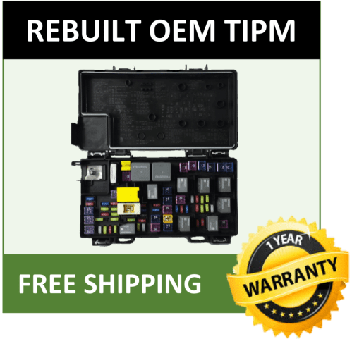 small resolution of 2012 dodge grand caravan tipm fuse box integrated power moduledetails about 2012 dodge grand caravan tipm