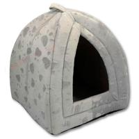 Luxury Pet House Igloo Dog Cat Soft Comfy Bed Cats Dogs ...