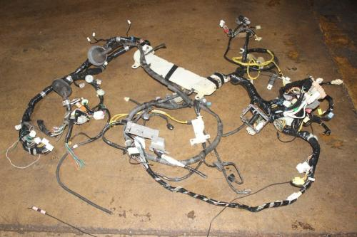 small resolution of details about jdm subaru wrx sti v7 ej207 full engine bay wiring harness dash harness gd