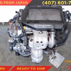 Caldina 3sgte Wiring Diagram 2003 Saturn Vue Engine Jdm 04 07 Celica Toyota Mr2 5th Gen 2 0l Turbo