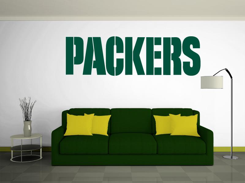GREEN BAY PACKERS Wall Decal ~ Vinyl Graphics ~ STICKER