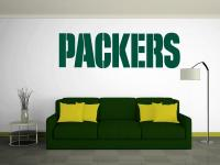 GREEN BAY PACKERS Wall Decal ~ Vinyl Graphics ~ STICKER ...