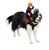 NEW Pet Dog Halloween Costume 2 pc HEADLESS HORSEMAN Size ...