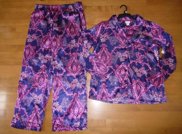 Jaclyn Smith Satin Pajamas 3X