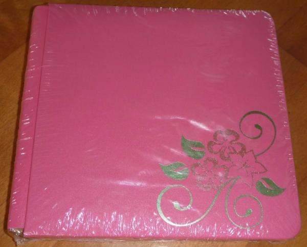 Creative Memories 8x8 In Coverset Scrapbook Album Pink