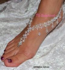 Beach Wedding Barefoot Sandals Foot Jewelry