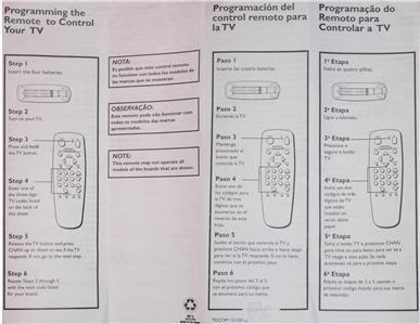New RCA DirecTv Remote CRK91M1 232110 CRK91A1 CRK91FF1