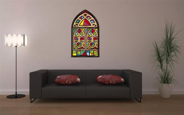 Stained Glass Window Wall Art